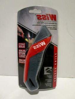 NEW WISS Auto Retracting Safety Utility Knife Model WKAR2