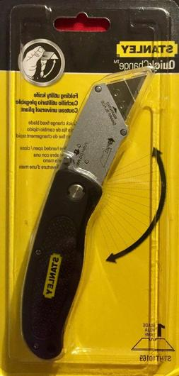 NEW STANLEY Quick Change Folding Utility Knife- STHT10169- F