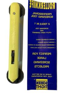 NEW Screen Tight Screening Tool & Utility Knife Combination