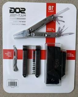 SOG PowerAccess Multi-tool Bonus Kit HexBit Kit 13 Tools Wit