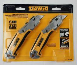 DeWalt Retractable Utility Knife Blade Storage 2 Pack Made i