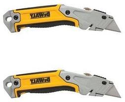 Dewalt Retractable Utility Knife Box Cutter Set of 2