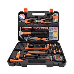 Renogy 46 Pieces Tool Set Box Kit General Household Hand Com