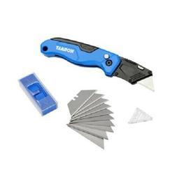 Kobalt Speed Release Folding Lockback Utility Knife with 10