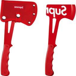 SUPREME x SOG Hand Axe Red box logo camp cap hatchet tnf S/S