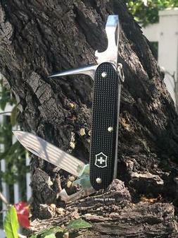 Victorinox Swiss Army 54968 Pioneer Knife, Black