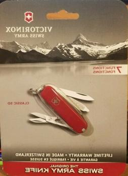 VICTORINOX Swiss Army Knife 7 function Classic SD Red, 56011