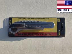 Utility Knife Box Cutter Retractable Snap Off Lock Razor Sha