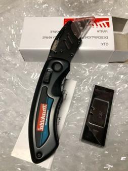Makita Utility Knife Folding Changeable Blade