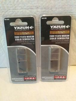 HUSKY Medium Utility Knife Replacement Blades /  6 Pack of 5