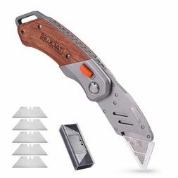 Utility Knife, Tacklife UKW03 Box Cutter - Folding Pocket Ut