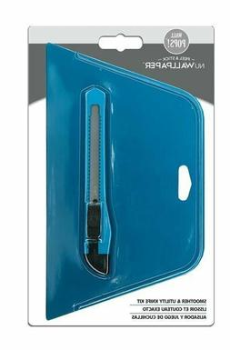"""WallPOPs 4"""" x 6"""" Smoother and Utility Knife Kit Wall Paper I"""