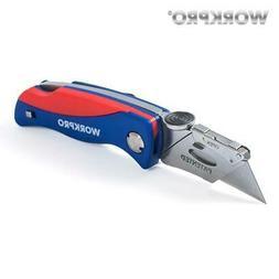 WORKPRO Classic Folding Knife Electrician Safety Utility Kni